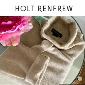 Holt Renfrew 100% Cashmere Sweater Top Size Large